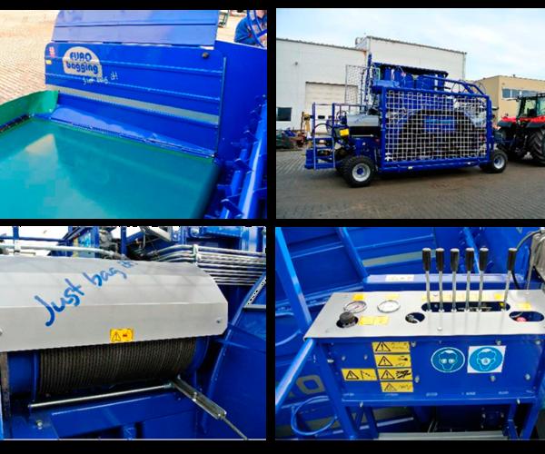 Оборудование от производителя EURO BAGGING EB 310 LS Силосование кормов в рукава