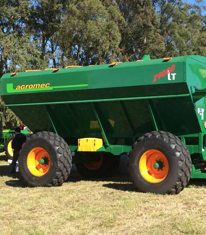 Бункеры-накопители для зерна Agromec