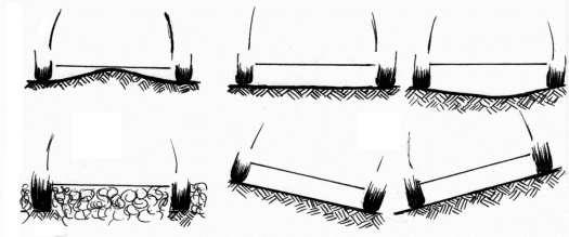 площадка должна быть жесткой, потому что именно шины принимают и выдерживают нагрузку удара зерна по машине
